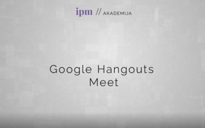 Google Hangouts Meet: Kako spremeniti prikaz udeležencev