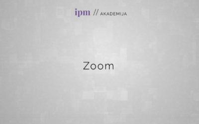 Zoom: Kako vstopiti v aplikacijo ter vklopiti kamero in mikrofon